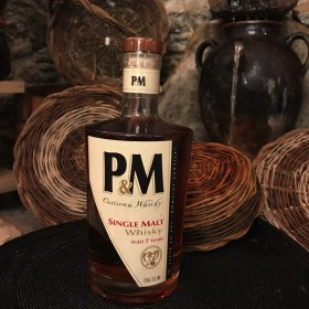 P&M Whisky Corse Single Malt 7 ans d'âge