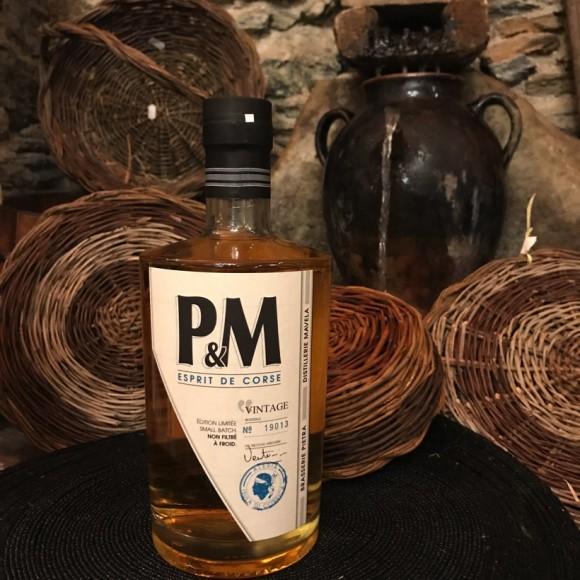 P&M Whisky Corse Vintage Édition Limitée