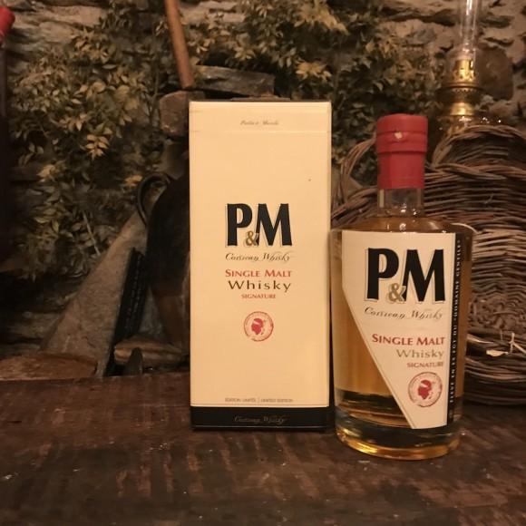 P&M SINGLE MALT WHISKY SIGNATURE