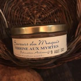 Terrine aux myrtes