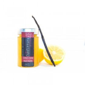 Confiture Citron Corse  et Vanille