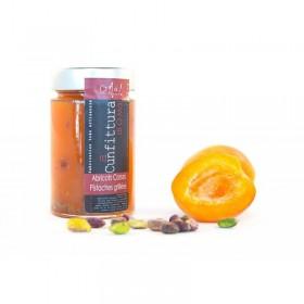 Confiture Abricots - Pistaches grillées